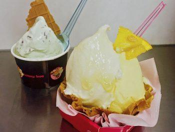 福島県産の上質ミルクとはちみつ、フルーツを使ったジェラート店
