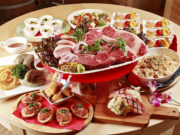 「サマープラン」の料理内容例