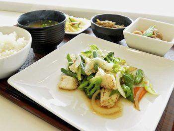 「NHK福島放送局」内の新レストラン!福島の野菜たっぷりのヘルシーランチ