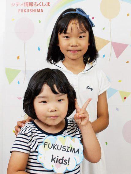 羽菜ちゃん「将来はお花屋さんになりたい」/心寧ちゃん「将来はアナウンサーになりたい」