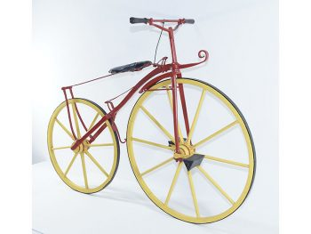 自転車の歴史、魅力が詰まった展示会を「郡山市立美術館」で開催