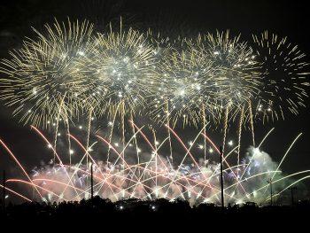 郡山市最大規模の花火大会