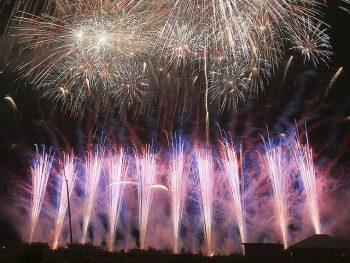 約30万人が訪れる、福島県内最大級の花火大会!