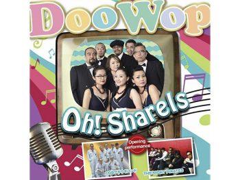 圧巻の歌声でDoowopを届ける「Oh!Sharels」、福島市ライブ