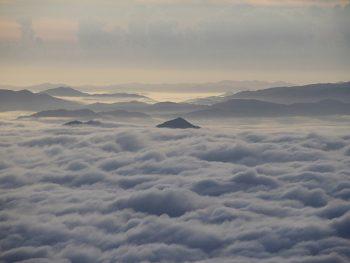 吾妻八景・つばくろ谷からの雲海