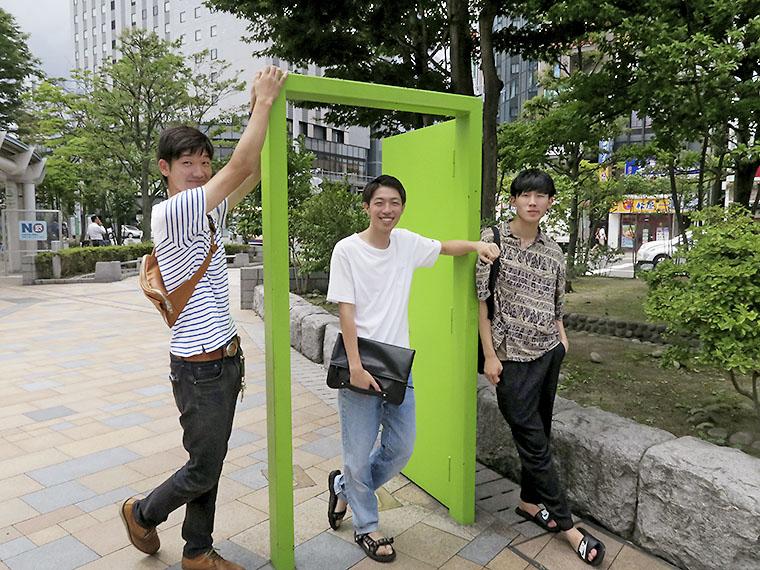 郡山駅周辺を旅する、男子学生3人の『ガチ旅』に密着!