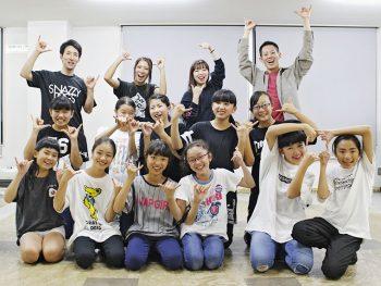 ダンススクール『フローヴ』の秋ライブ開催