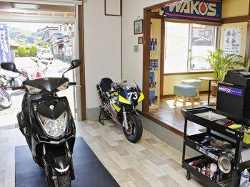 2017年7月オープンの『ガレージアウラ』!!冬前のバイクメンテナンスがお得!