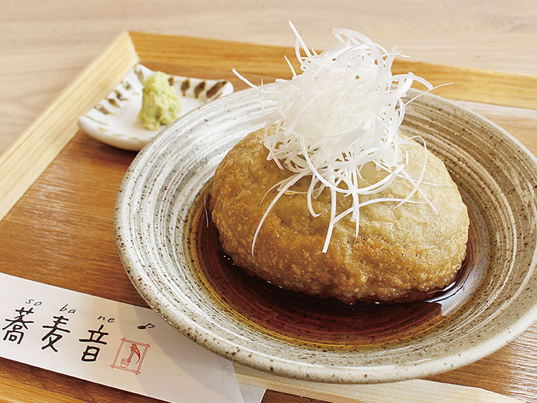 【二本松市油井】蕎麦音(そばね)