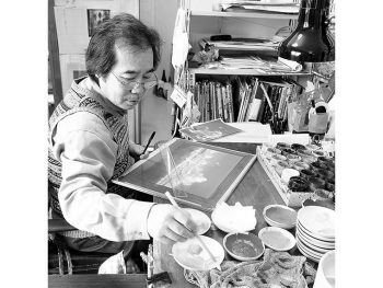 ジブリ作品の美術監督を務める山本二三氏の作品展
