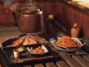 シンプルだから美味い、福島の郷土の味「いかにんじん」