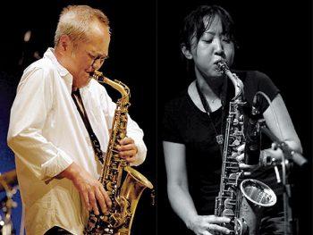 実力派サックス奏者・林 栄一&小埜凉子がデュオツアーで福島市へ