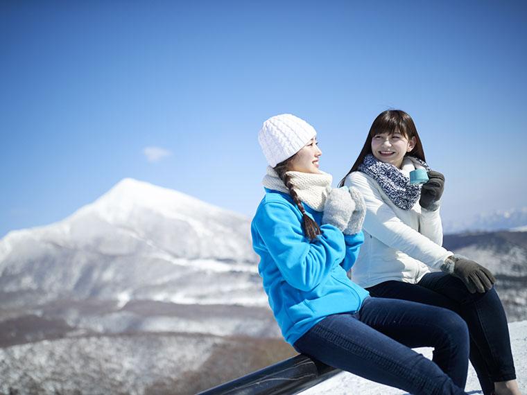スキーヤーだけが観ることができたこの景色!滑れなくても楽しみがたくさん
