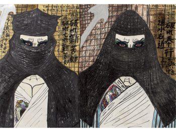 福島県出身・在住の青木 尊の絵が集結