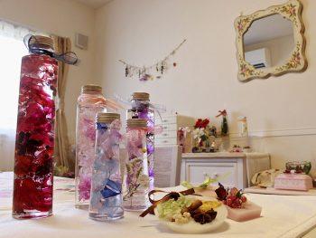 本物の花を使った雑貨作り!大人女子がときめくフラワーハンドメイド教室【AD】