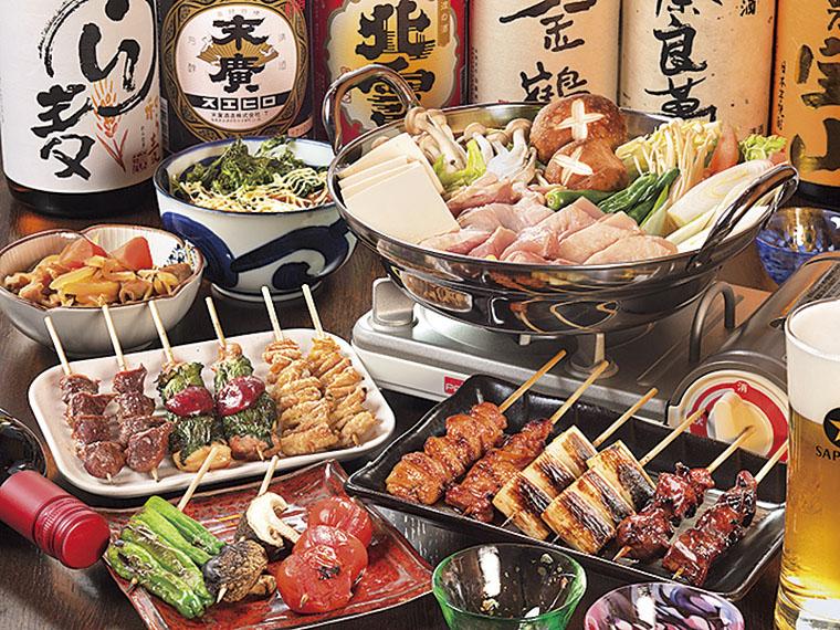 手造りにこだわった旬の料理を味わえる。日本酒とともにゆっくり堪能しよう
