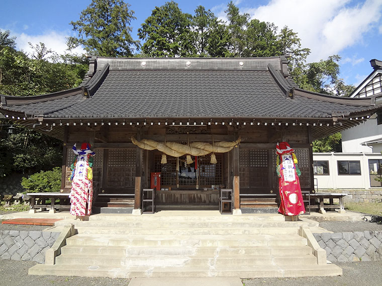【国見町石母田】国見石母田 三吉神社