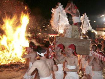 徳一大師が開山、1,200年の歴史をもつ本宮の霊場の祭り
