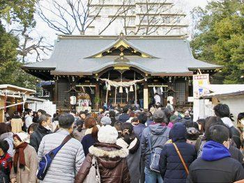正月三が日の参拝人数は10万人!福島県北エリア屈指の初詣スポット・福島稲荷神社