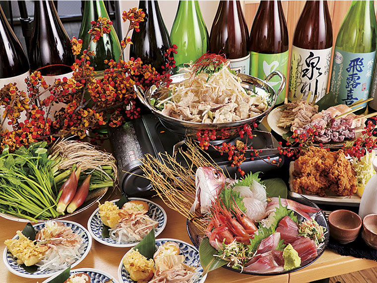 【福島市栄町】地酒と飯 かど福