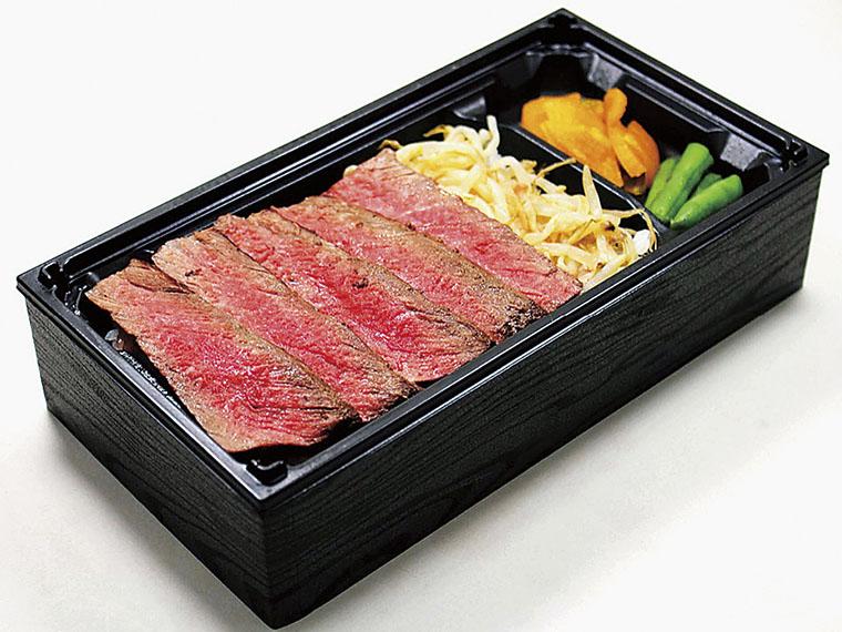 山形・やまと牛肉店の「米沢牛ステーキ弁当」2,160円