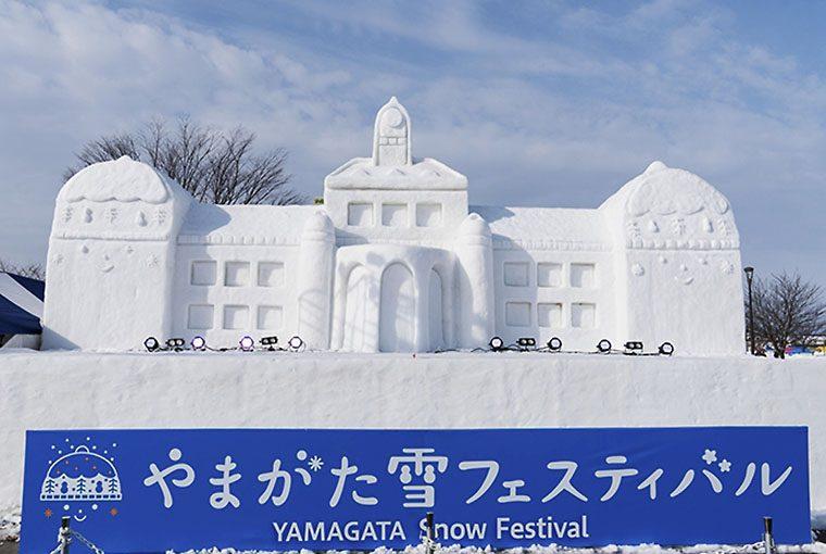 2017年開催時の雪像。今年も要チェック!