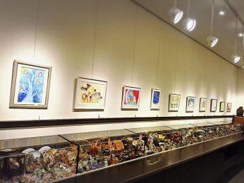 絵本「インコの手紙」の作者、あきばたまみによる個展