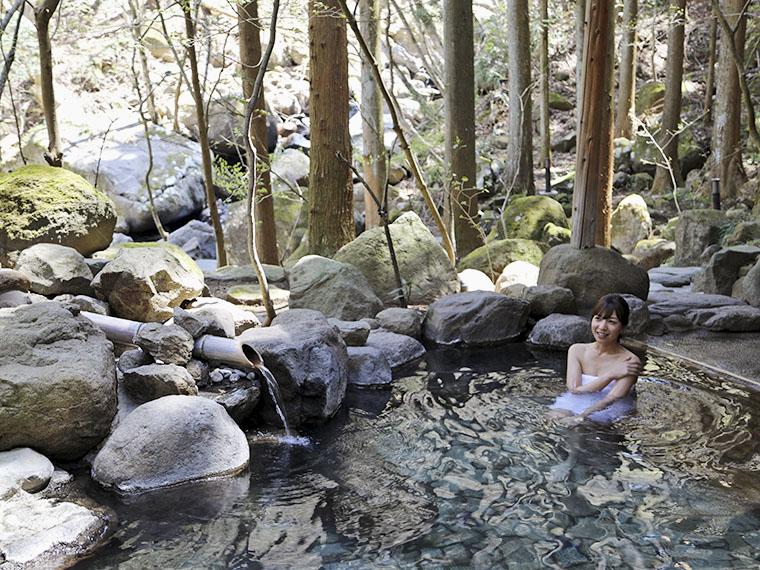 極上の温泉と食事が楽しめる。対象の旅館は『土湯温泉観光協会』まで問い合わせを