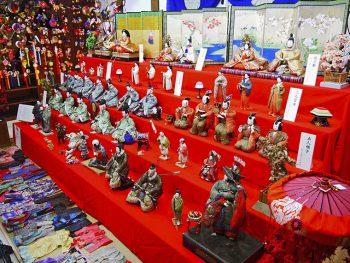 山形市内各所で、雛人形の展示や関連イベント開催!