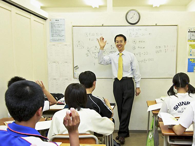 集団、個別、自立学習から生徒一人ひとりに合った指導形態が選べる