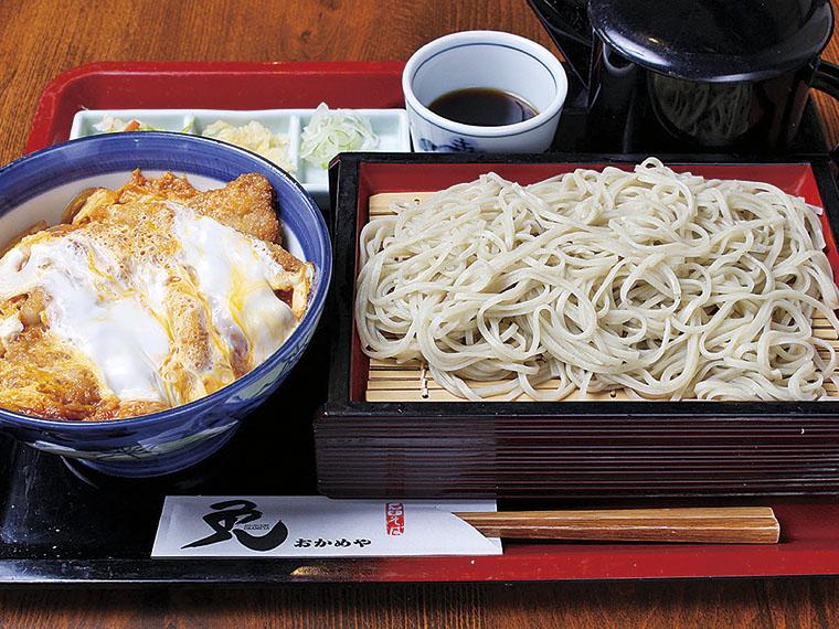 『石臼そば おかめや』食事券2,000円分【5名様】