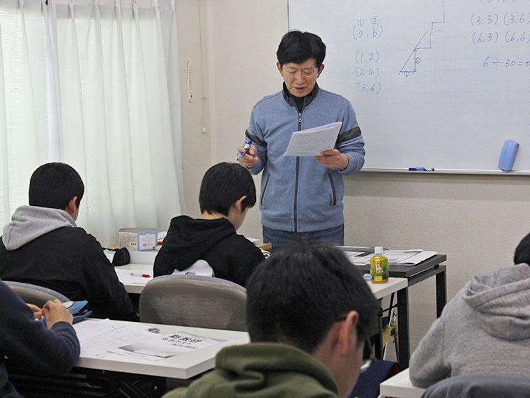 生徒同士の距離が近く、楽しんで勉強できる