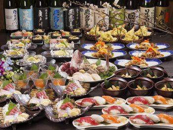 春の宴会は人気の和風居酒屋『ふりこ亭』で!豪華「真鯛の姿造り」サービスも!!