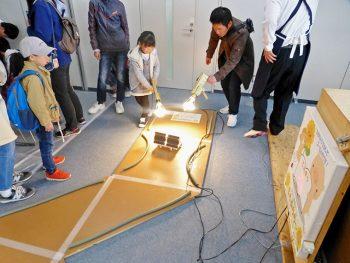 福島県内の工業高校とコラボ!様々な種類のロボットで遊ぼう