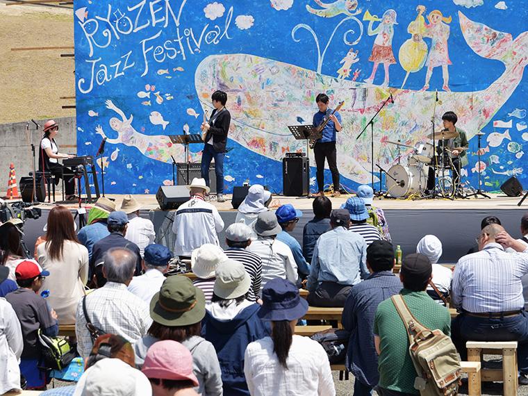 【5月3日(祝)・4日(祝)霊山町】RYOZEN JAZZ FESTIVAL 2018