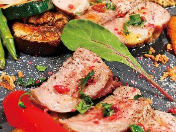 スペイン王室公認の豚肉&フランス産幻の牛肉