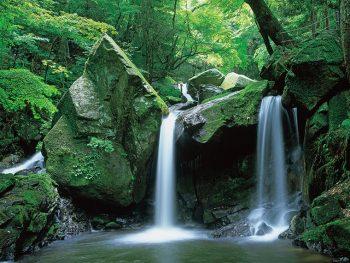 新緑と滝のパワースポット、福島県内最南端の秘境「滝川渓谷」