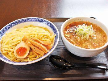 夏の新メニュー「伏竜つけ麺」が登場!平太麺と魚介豚骨スープの相性抜群!!