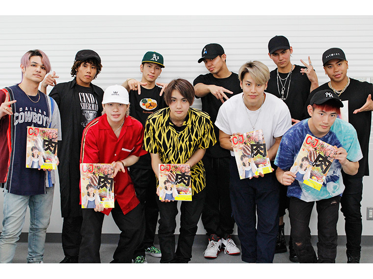 「THE RAMPAGE from EXILE TRIBE」インタビュー【vol.2】 サイン入りポスターのプレゼントも