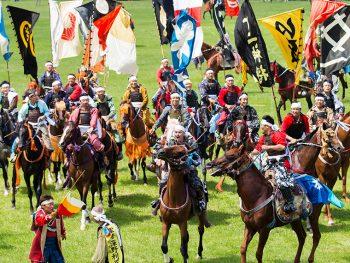 千年の歴史ある祭礼「相馬野馬追」