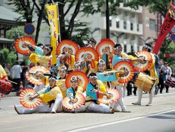 活気あふれる杜の都伝統の舞『仙台すずめ踊り』