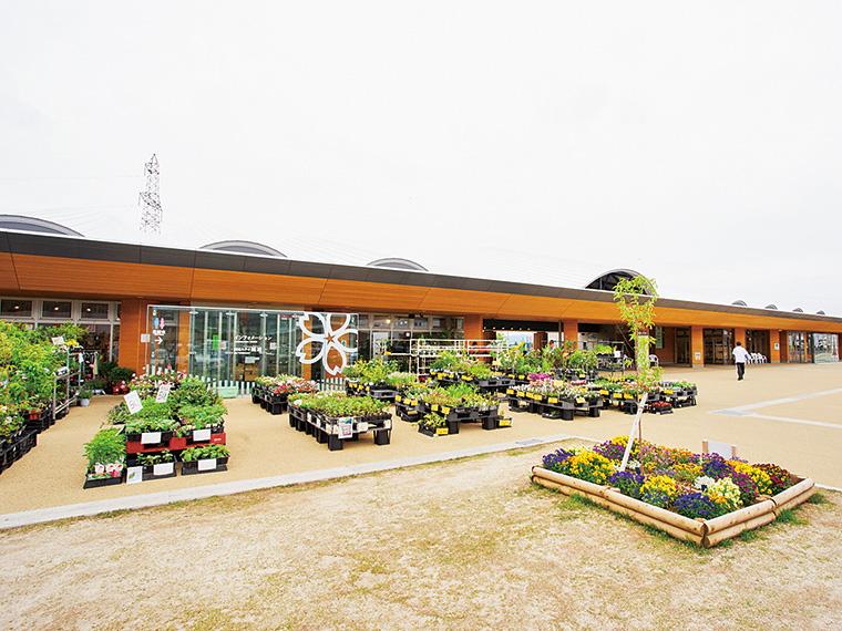 大屋根は国見町のシンボル阿津賀志山がモチーフ。 建物の2階北側に宿泊施設、南側には研修施設があり、合宿や町民の法事などにも利用されている