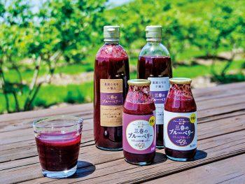 「飲むブルーベリー」が人気!三春町のブルーベリー農園