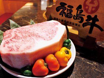 熟成庫で福島牛のうまみを最大限に。福島食材そのものの味わいを堪能