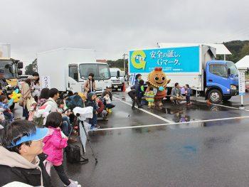 様々なトラックが郡山に大集合!ステージイベントも盛りだくさん