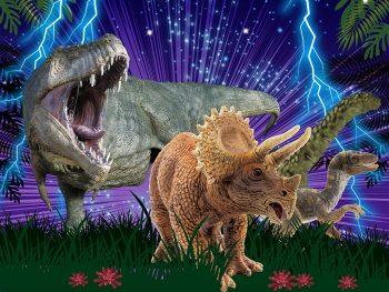 夜の博物館でロボット恐竜に会おう!