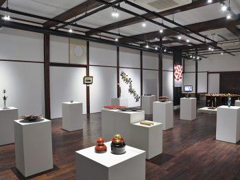 会津若松市内を漆器と芸術作品が彩る1ヵ月