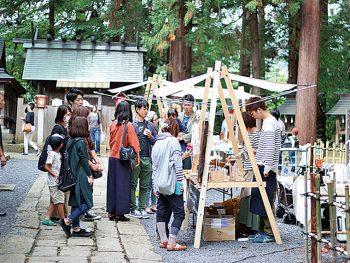 「熊野大社」で人気のマルシェとコーヒーイベントがコラボ