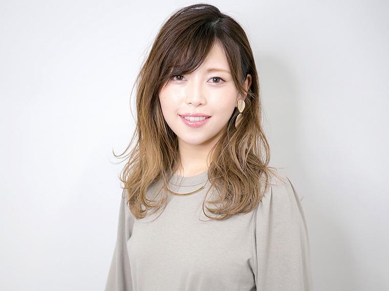 『Kotii』スタッフは「バレイヤージュ」が得意。様々なカラー技術が高いのも魅力