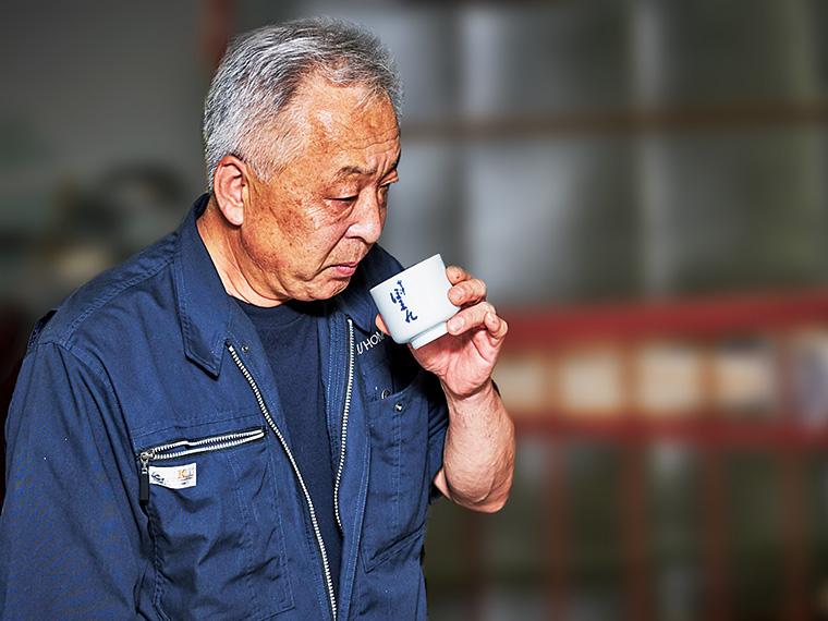 再現性とこだわりのバランスを両立させ、良酒を生み出す杜氏の中島一郎さん
